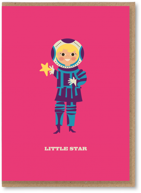 Little star girl bc 10 greetings cards and art prints the little star girl m4hsunfo