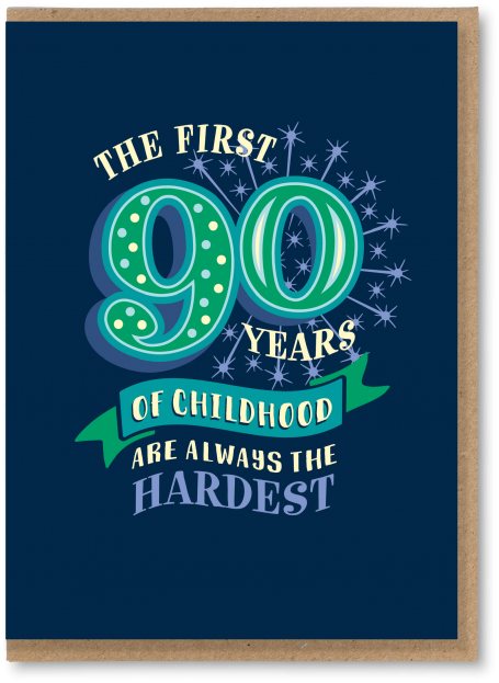 90 Childhood years
