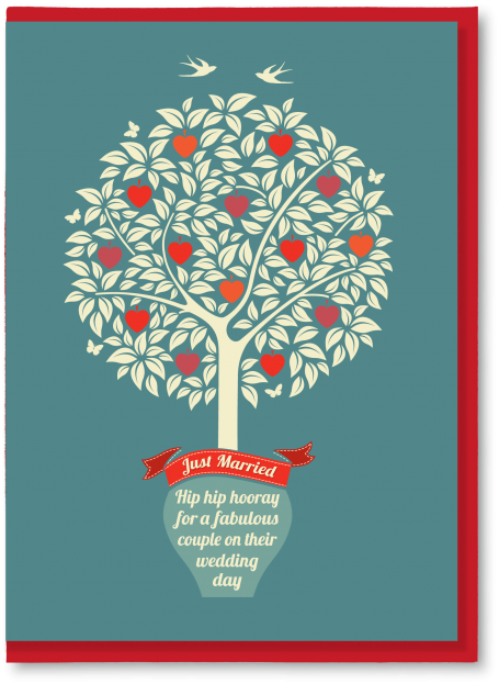 wedding tree jmt 2 greetings cards and art prints the typecast