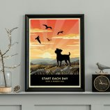 Limited edition Jack Russell Print. A dog lover's gift.