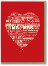 Mr and Mrs heart