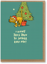 I want this tree to smell like me
