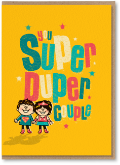 You super-duper couple