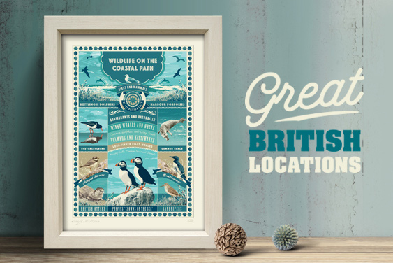 Great British Locations Art Prints