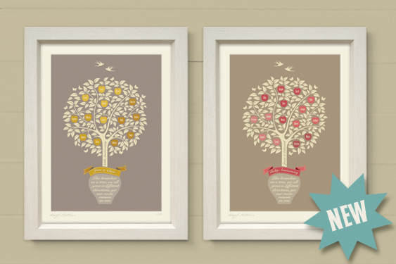 Family Tree Art Prints